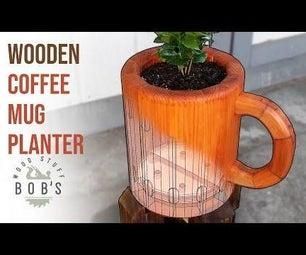 DIY咖啡杯形植物