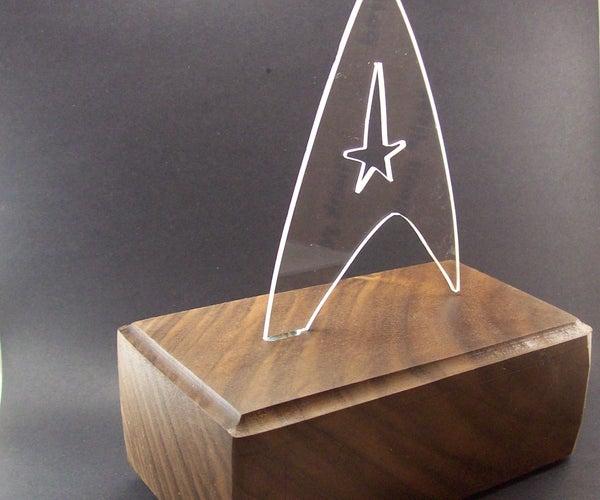 Star Trek LED Light