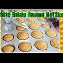 White Raisin Banana Muffins