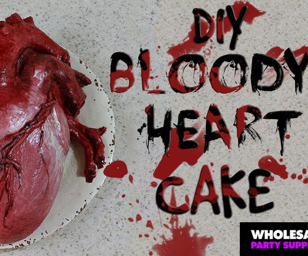 DIY Human Heart Cake