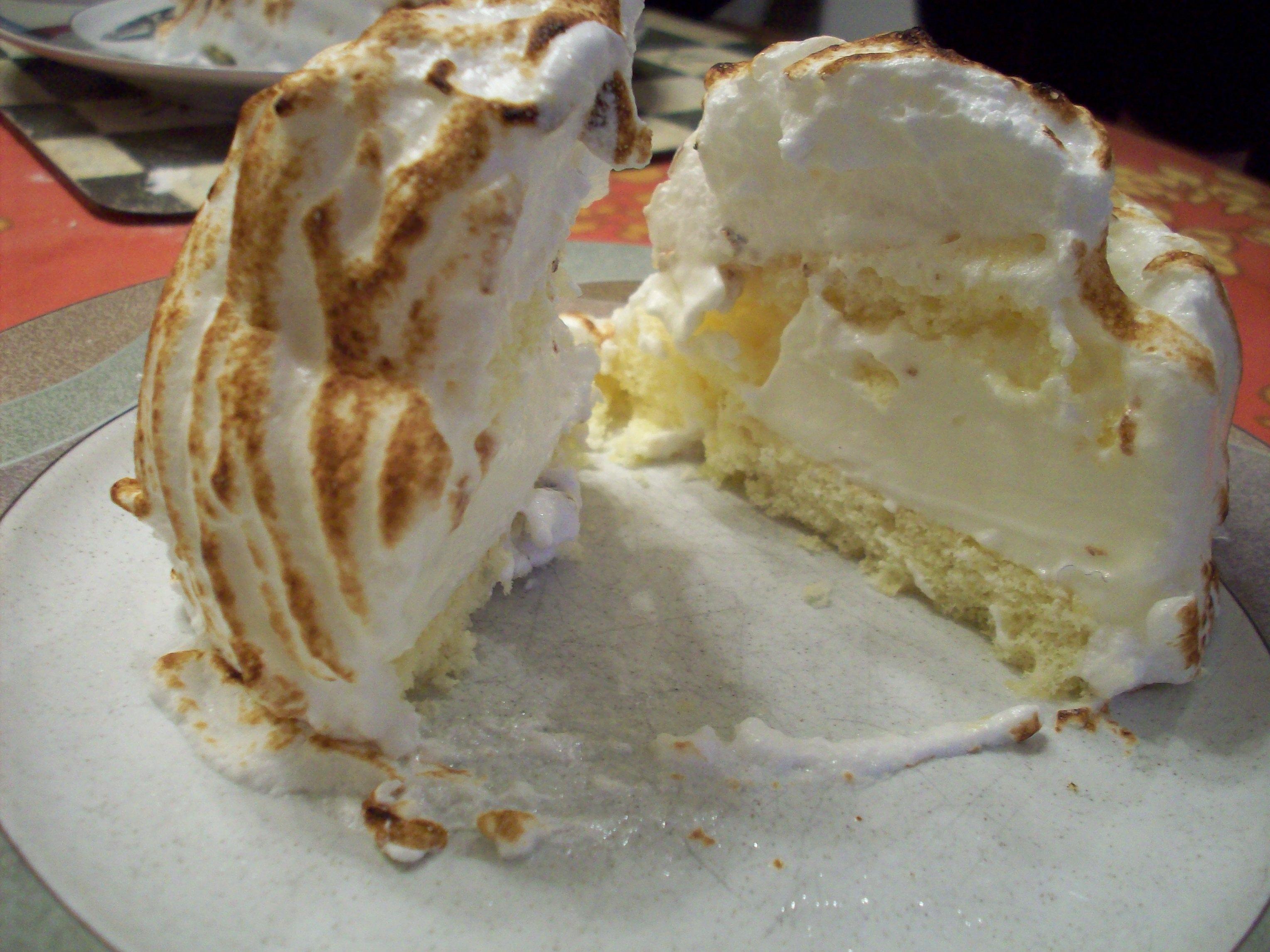 Baked Alaska, Gordon Ramsay Style