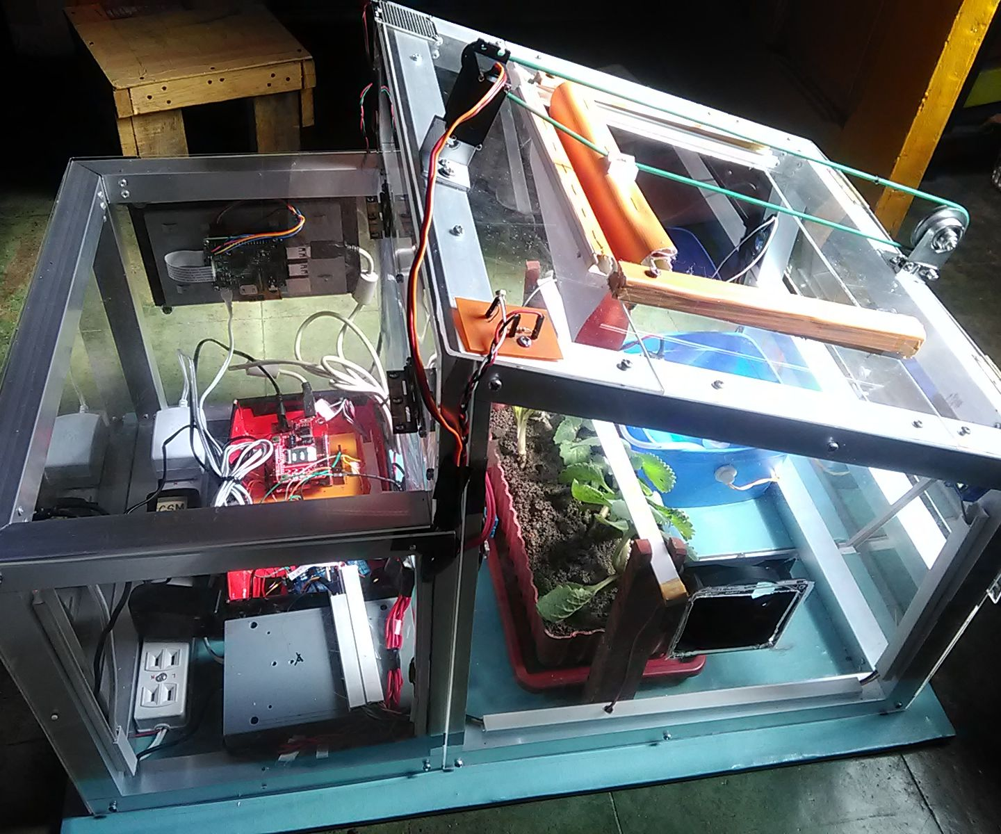 Automated Plant Monitoring System