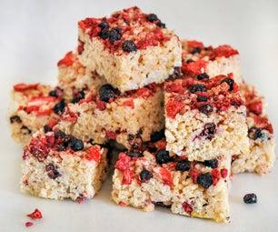 Berry Rice Krispie Treats