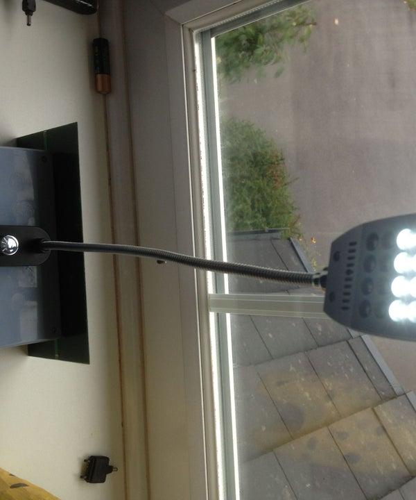 Infinity LED Light-Solar Lamp