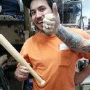 How to Turn a Mini-Baseball Bat/Mallet