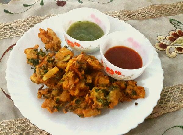 Simple Vegetable Pakoras