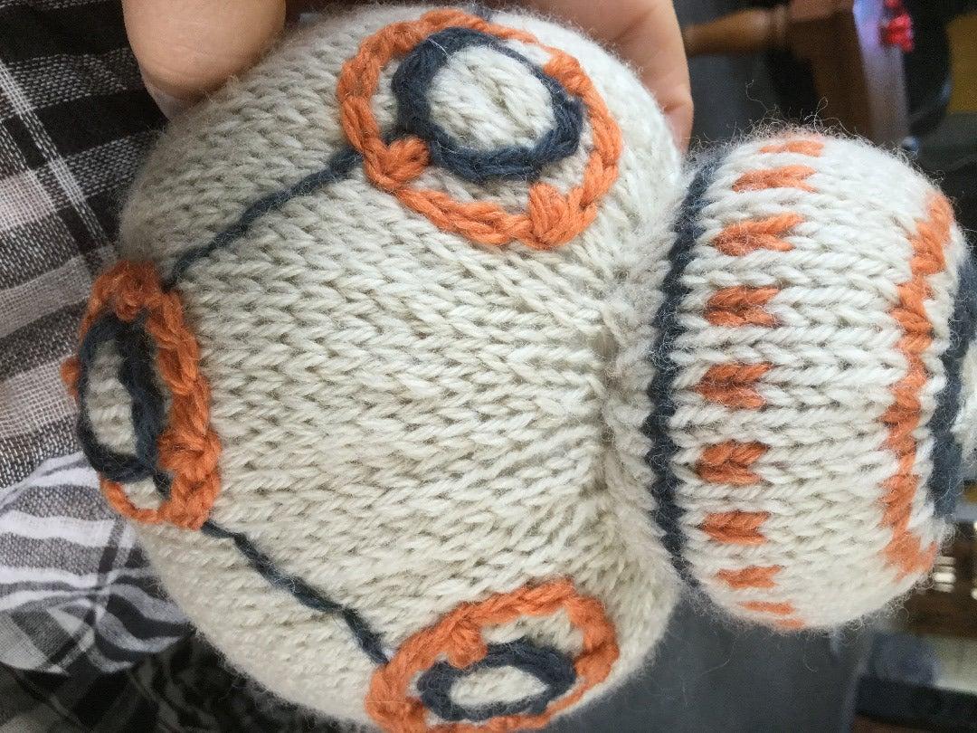 Stuffing and Stitching Up