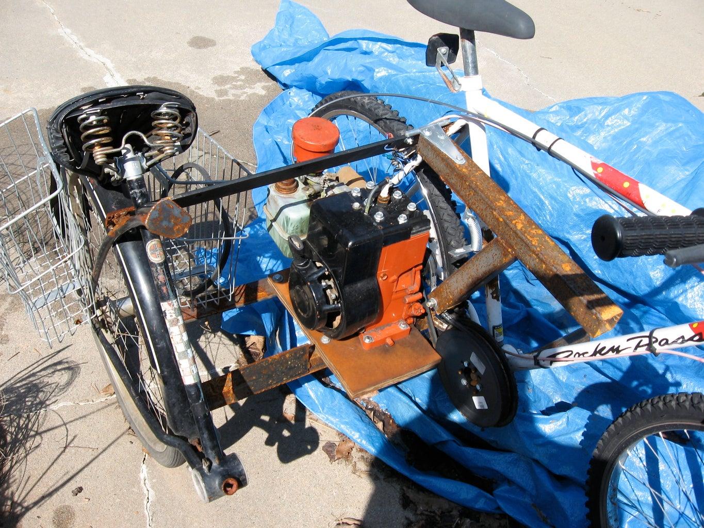 Bicycle Go-Kart
