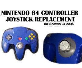 Nintendo 64 Controller Joystick Replacement