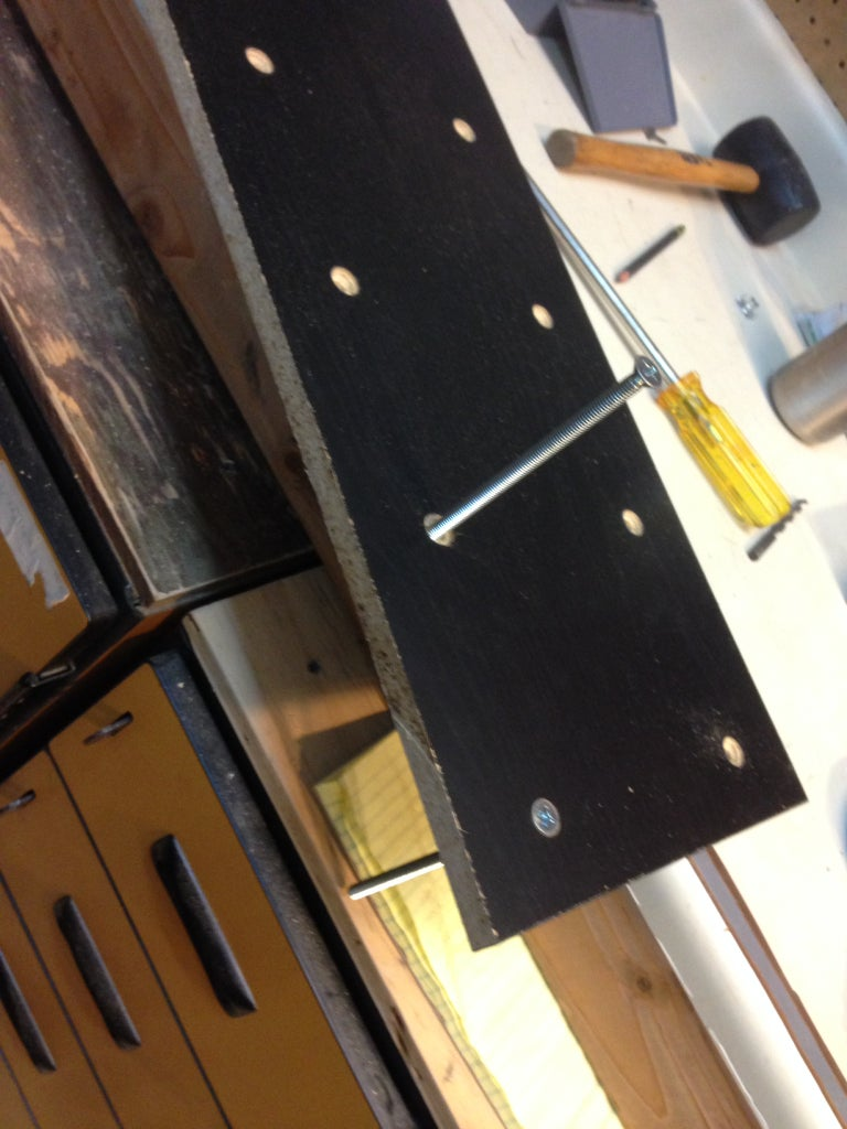 Countersink the Hardware
