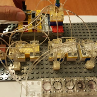 Pneumatic Logic Gates Made With Simple Tools