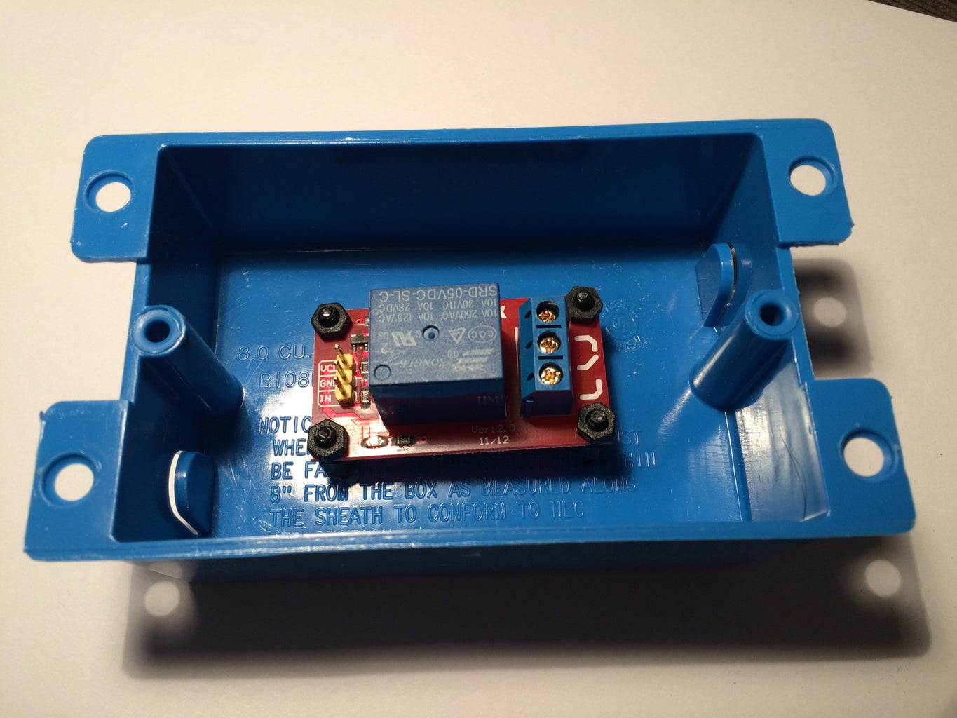 Build Relay Switching Enclosure