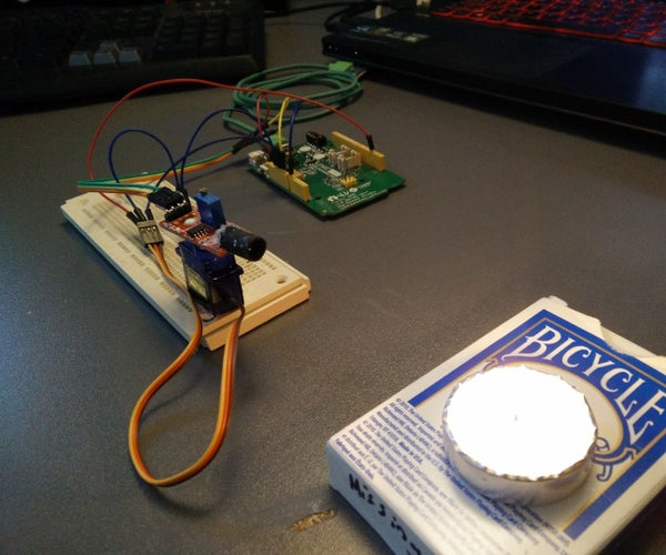 LinkIt ONE Flame Finder