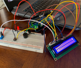 Arduino Jump the Block Game
