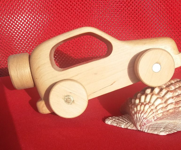How to make wooden toy car