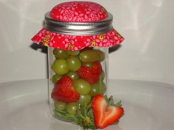 Agape Fruit Salad in a Jar