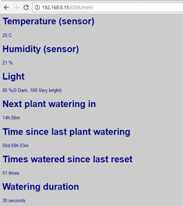 Smart Plant Watering
