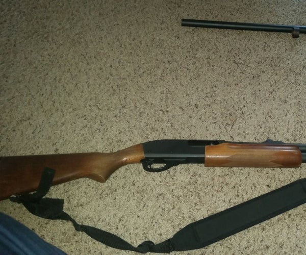 How to Change From a Rifled Barrel to a Smooth Bore Barrel on a Remington 870 Shotgun
