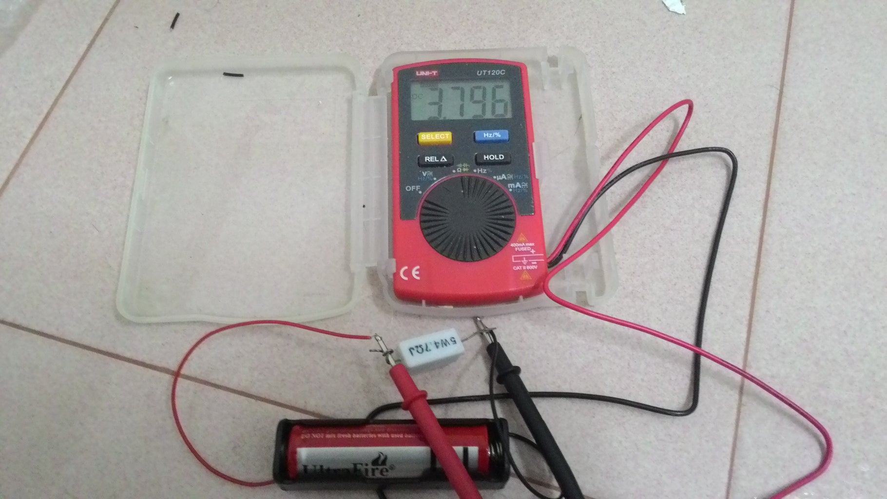 Measuring the Voltage Across the Load Resistor