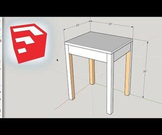 Using SketchUp As a Woodworking Design Software