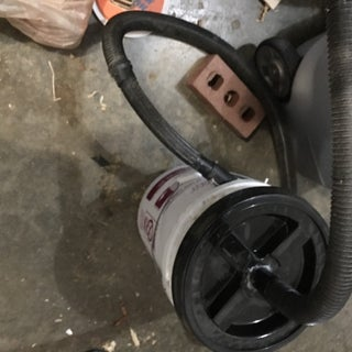 Make a Woodshop Pre-filter (aka Cyclone) for $8