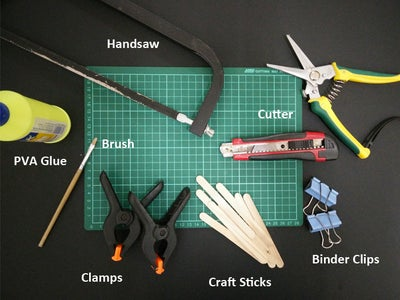 Gather Your Material and Tools