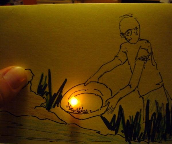 Light Up LED Card