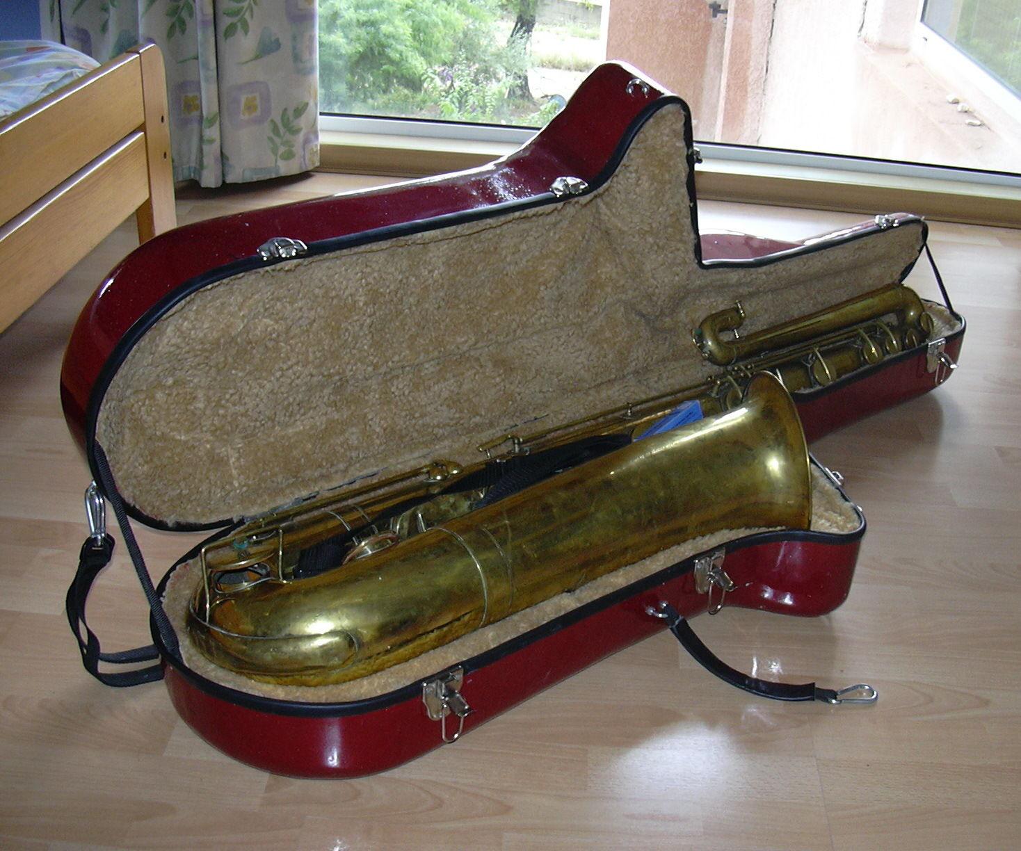 Bass Saxophone Composite Case