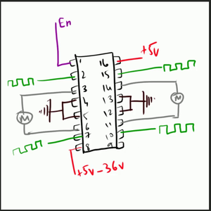 How Does L293D Works?