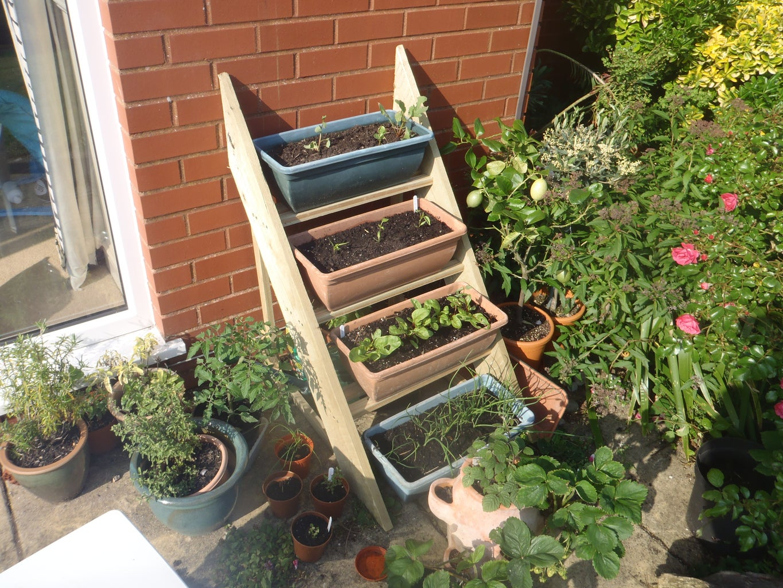Simple Planter Ladder