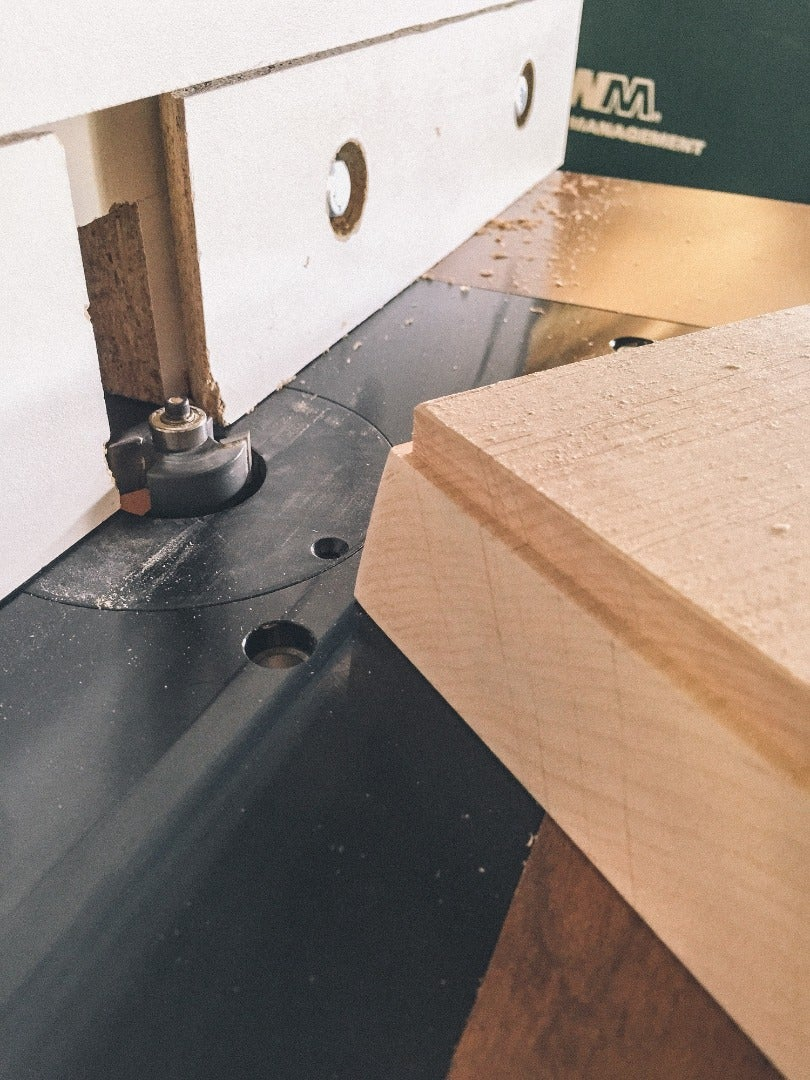 Cutting the Angles and Rabbet