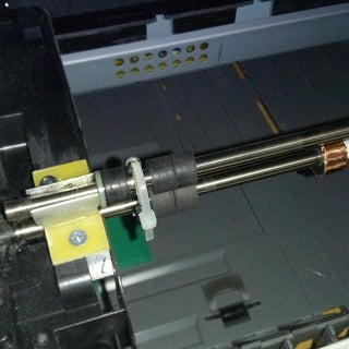 Modification of the Lexmark E260 for Direct Laser Printing of Printed Circuit Boards - MCU Version