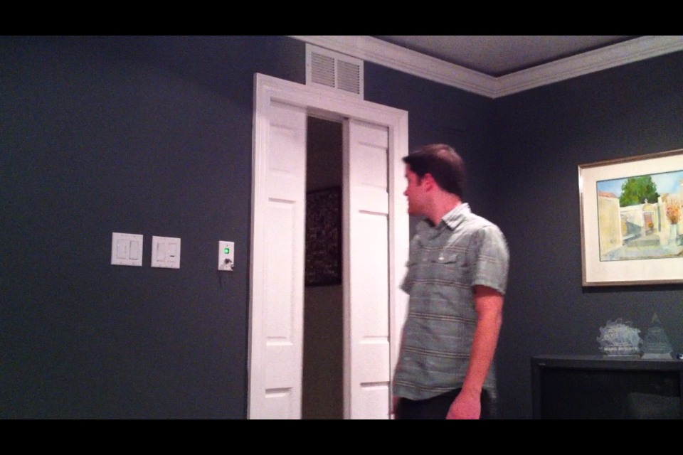 Air-Powered Star Trek Style Door