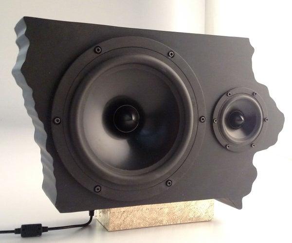 Iowa Shaped Speaker