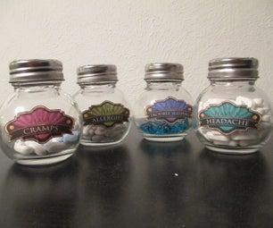 Art Deco Medicine Jars
