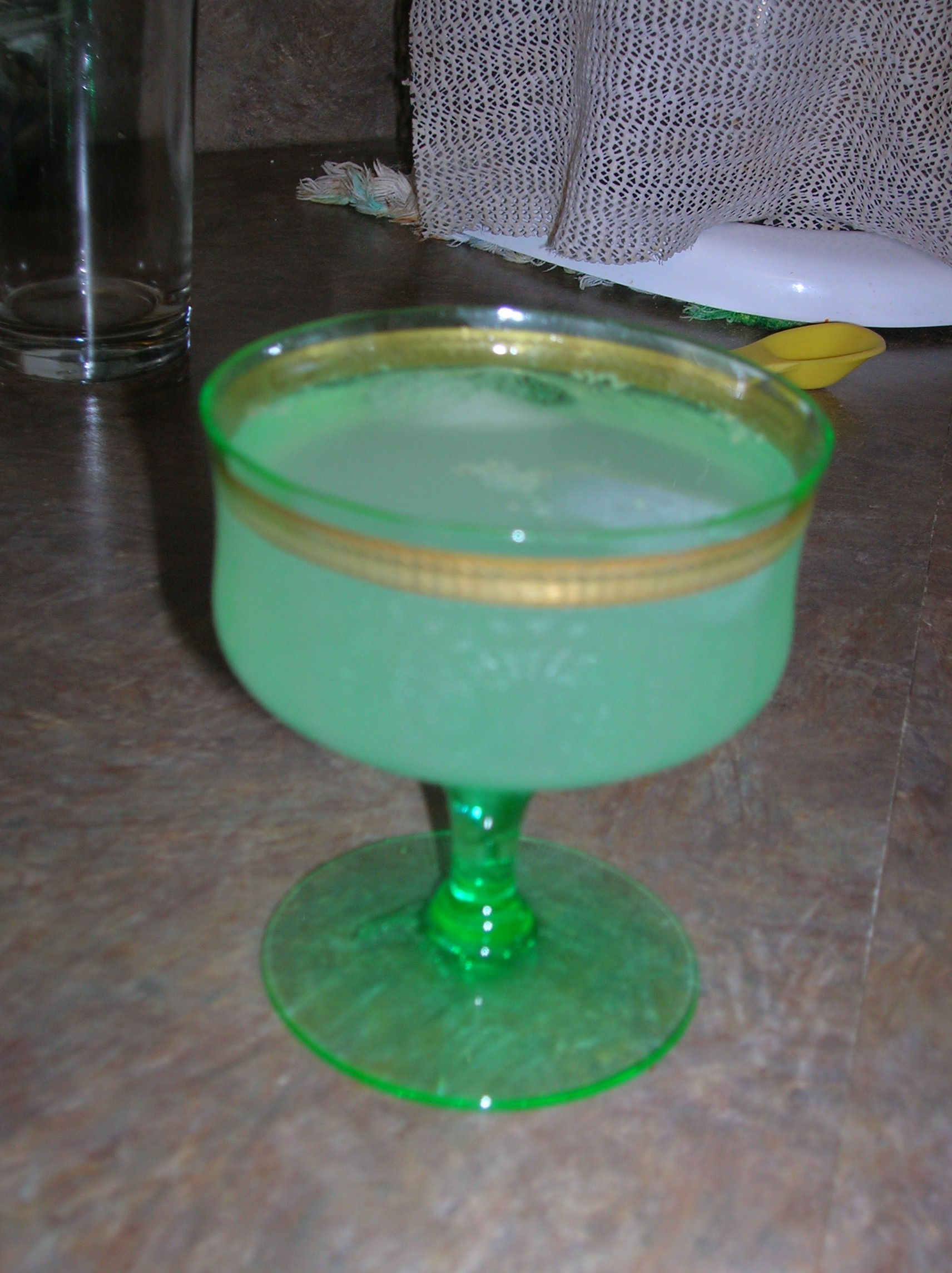 The Ginger Mojito mocktail