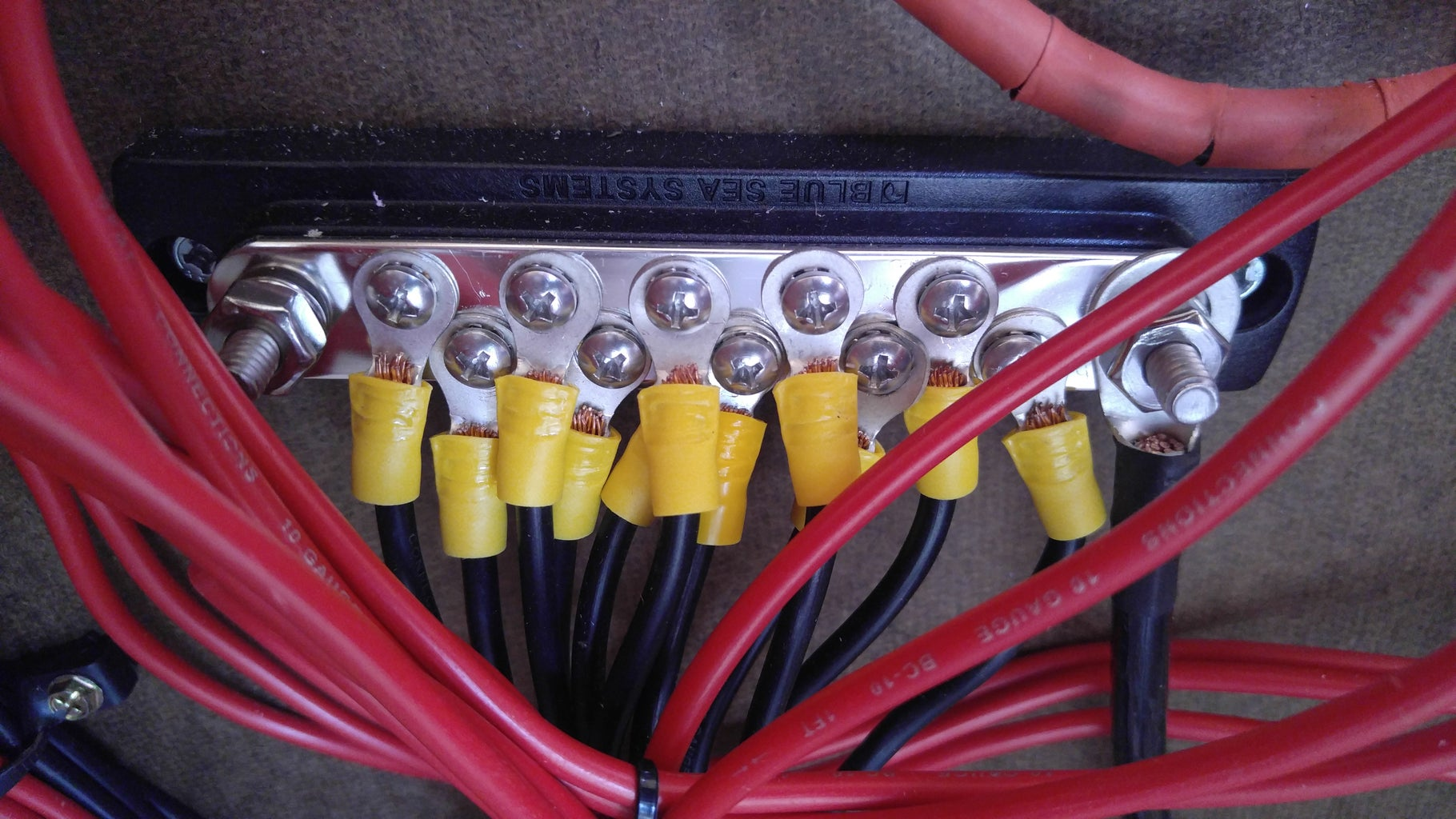 Wire Connections in Central Electrical Box
