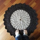 How to Crochet a T-Shirt Yarn Round Rug