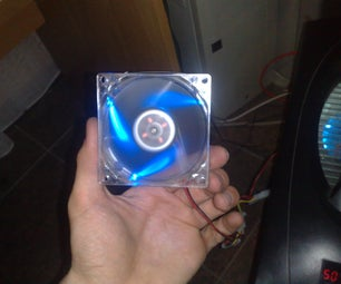Auto Change RGB Led Fan for PC