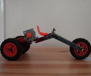 Meccano Chopper-Style Trike
