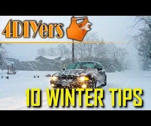 在冬季,可以在车辆中保留10件物品