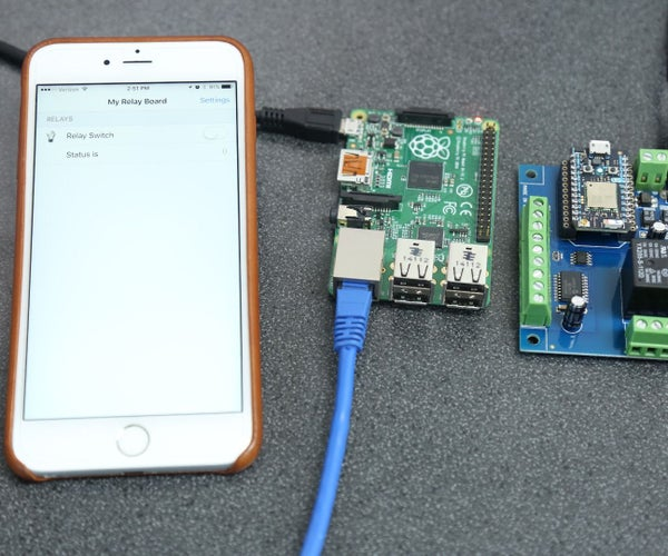 OpenHab on Pi Controlling Particle Photon Relay