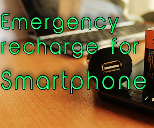Emergency Charge for Your Smartphone
