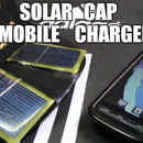 SOLAR CAP MOBILE CHARGER
