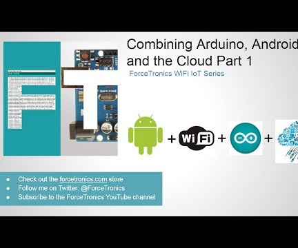 IoT with Andriod, Arduino, and the cloud
