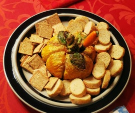 Sweet and Sour Pumpkin Pickles in Puff Pastry