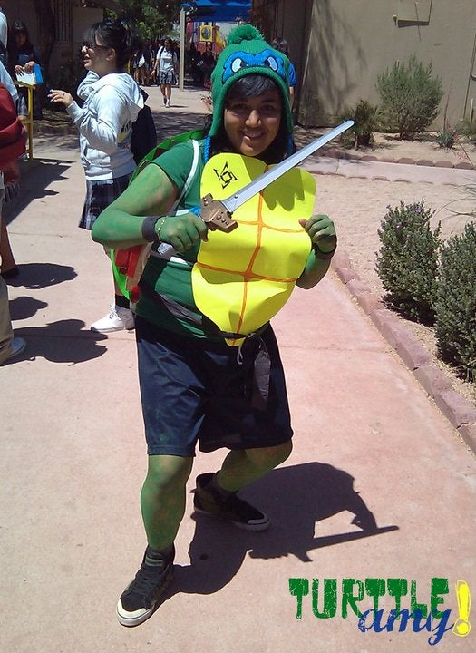 Easy Ninja Turtle Costume!