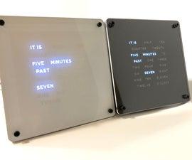 Arduino RGB Matrix Word Clock