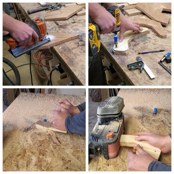 Cut and Rout Pieces