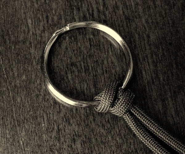 Reinforced Paracord Ring Hitch